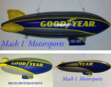 """33"""" Goodyear Blimp Inflatable + Sticker + Stress Reliever Squeeze Toy Bundle LOT"""