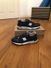New Balance 991 leather made in the UK navy size 10UK