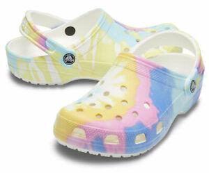 Crocs // Classic Clog [White/Multi] #205451 (Junior: 1)