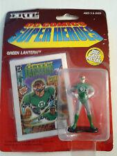 "ERTL DC COMICS SUPER HEROES GREEN LANTERN DIE CAST 2 1/2"" FIGURE 1990 SEALED"