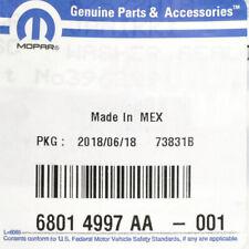 Genuine Mopar OEM Turbocharger Oil Line Gasket Seal 07-10 Ram 2500 68014997AA