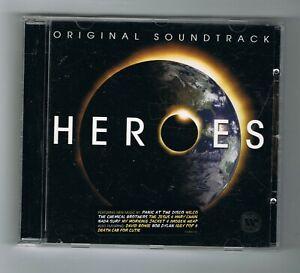 ♫ - HEROES - ORIGINAL SOUNDTRACK - CD 18 TITRES - 2008 - TRÈS BON ÉTAT - ♫