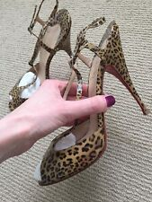 christian louboutin shoes size 7 40