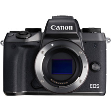 A - Canon EOS M5 Mirrorless Digital Camera Body Only
