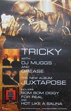 TRICKY POSTER, WITH DJ MUGGS- JUXTAPOSE (X1)