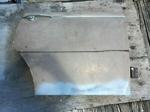 Jaguar 3.8S 3.4S, 420 Right Rear Door Shell Assembly # 2 In storage 30-40 Years