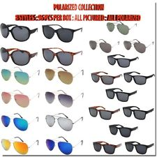 WHOLESALE BULK SUNGLASSES POLARIZED STYLES ONLY 96 PCS PER BOX ALL NEW STYLES