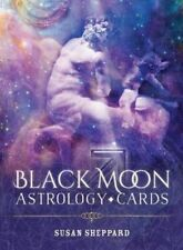 NEW Black Moon Astrology Cards By Susan Sheppard Paperback Free Shipping