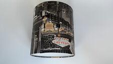 "8""/20cm Las Vegas - Muriva Wallpaper LAMPSHADE (Hand Made)."