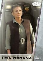 Women of Star Wars THE JOURNEY OF LEIA ORGANA Trading Card Insert JL-7