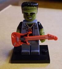 Lego personaje-monstruo rocker (guitarra Frankenstein Herman) - series 14 nuevo