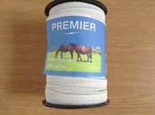 1 ROLL Electric fencing tape 20mm x 200m white tape