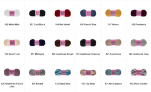 I Love This Chunky! Yarn New Various Colors! Price Per Skein