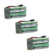 3x Turnigy Nano LiPo Akku 750mAh 1S 35-70C SYMA X5 X5C H5C X5SW X5SC K-300 3,7V