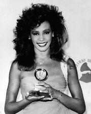1986 Grammy Awards Whitney Houston Glossy 8x10 Photo Singer Actress Print