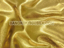 """YELLOW GOLD METALLIC SPARKLE FABRIC for DRESS WAISTCOAT APPAREL BLOUSES 44""""W"""