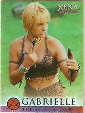 Xena Battling Bard G2 Season 4 and 5 Renee OConnor Gabrielle insert card
