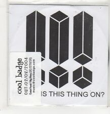 (GB948) !!!, Hello? Is This Thing On? - 2004 DJ CD