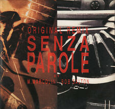 "45 12"" mix Vasco Rossi – Senza Parole (Original Remix) Yellow Vinyl Italy 1994"