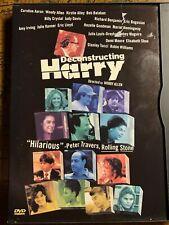Deconstructing Harry (DVD, 1998) Woody Allen; Ultra Rare/OOP! 1997 Comedy Film