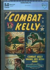 COMBAT KELLY #15 SOLID GRADE CBCS PEOPLE BURNED ALIVE PANEL CARL BURGOS COVER