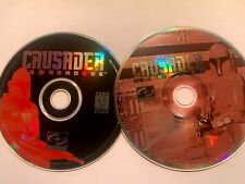 Crusader: No Remorse & No Regret (PC, 1995) Discs only