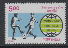 XG-T308 INDIA IND - Football, 1986 Mexico '86 World Cup MNH Set