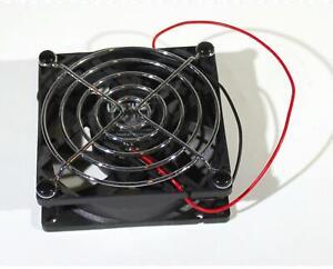 Warwick Amp 24 VDC Cooling Fan 80 mm X 25 mm Plus Grille RDH-8025B