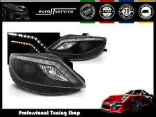 FEUX AVANT PHARES LPSE34 SEAT IBIZA 6J 2008-2010 2011 2012 DAYLIGHT LED INDIC