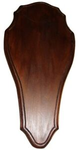 Wooden Base Shield Trophy Mounting Plaque For Red Deer Stag Skull,Horn