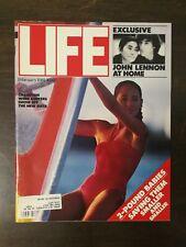 Life Magazine February 1981 - Champion Wind Surfers - John Lennon Interview