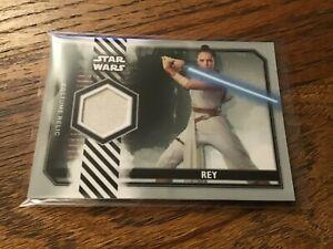 Topps Star Wars Episode 9 Rise of Skywalker S2 Costume Relic Rey Trousers /25