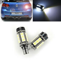 2x Error Free LED White Reverse Back Up Light Bulb For VW Golf Mk6 GTI 2010-2014