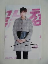 Lee Min Ho Korean Actor Signed 4x6 Photo Autograph hand signed USA Seller 18