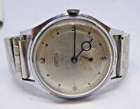 Gent's Vintage ROAMER Hand Winding Mechanical Wristwatch on Fixoflex Strap