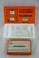 Jeu électronique GAME & WATCH DONKEY KONG Ji 21 complet boite d'origine & notice