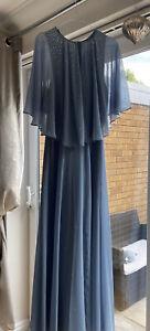 Jenny Packham Angel Sleeve Maxi Size 12