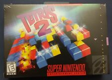 Tetris 2 (Super Nintendo Entertainment System, 1994) Brand New.