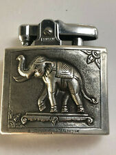 VINTAGE CADET RONSON STERLING SILVER LIGHTER ELEPHANT BANKOK 1957 ALEX & CO.
