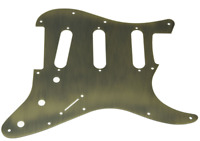 NEW PICKGUARD ANODIZED STRATOCASTER SSS alu - bronze - pour strat