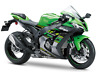KAWASAKI 2 STAGE TOUCH UP PAINT KIT ZX6R ZX10R 05 -19 NINJA 250, 400 LIME GREEN