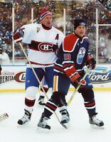 Larry Robinson Montreal Canadiens UNSIGNED 8x10 Photo
