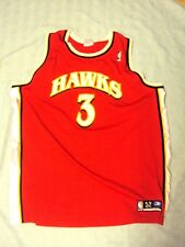 Reebok Atlanta Hawks Road Jersey Shareef Abdur-Rahim Size XL (52) NWOT!