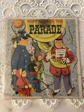 Vintage Playskool Golden Book Puzzle 'Here Comes the Parade Masonite