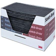 3M Scotch Brite 64660 Scuff Pads Ultra Fine Grey Hand Sanding Pads 25 Per Box