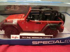 Maisto 2014 Jeep Wranger  1/18 scale  NIB 2019  release copper  exterior