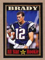 Tom Brady New England Patriots All Star Rookie, King Card Co. serial #/200 🔥