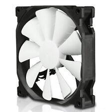 Phanteks 140mm Black/White Premium PWM Case Fan, 1200RPM Max