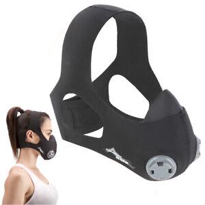 Trainingsmaske Atemmaske Sport Maske Ausdauer Training Fitness Joggen Kraftsport
