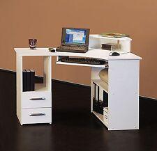 Eck-Schreibtisch Bürotisch PC-Tisch - Links-Version 115 cm - verschiedene Farben